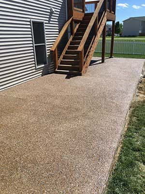 Exposed Aggregate Concrete Services in St. Louis