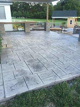 Stamped Concrete Contractor Services in St. Louis County